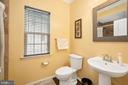 Full Main Floor Bathroom w/Shower - 31 LIBERTY KNOLLS DR, STAFFORD