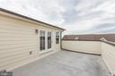 Rooftop patio overlooking the community - 44715 PLYMPTON SQ, ASHBURN