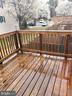 16215 Taconic Cir Dumfries VA 22025 Deck View - 16215 TACONIC CIR, DUMFRIES