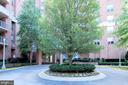Entrance Circle to Building - 4808 MOORLAND LN #503, BETHESDA