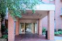 Main Entrance to Building - 4808 MOORLAND LN #503, BETHESDA