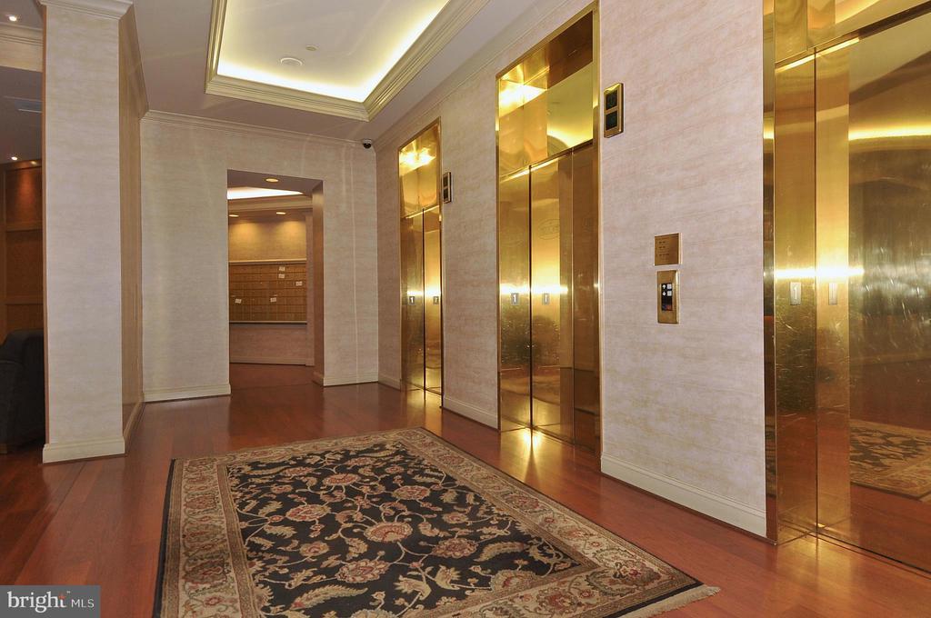 Elevators - 4808 MOORLAND LN #503, BETHESDA