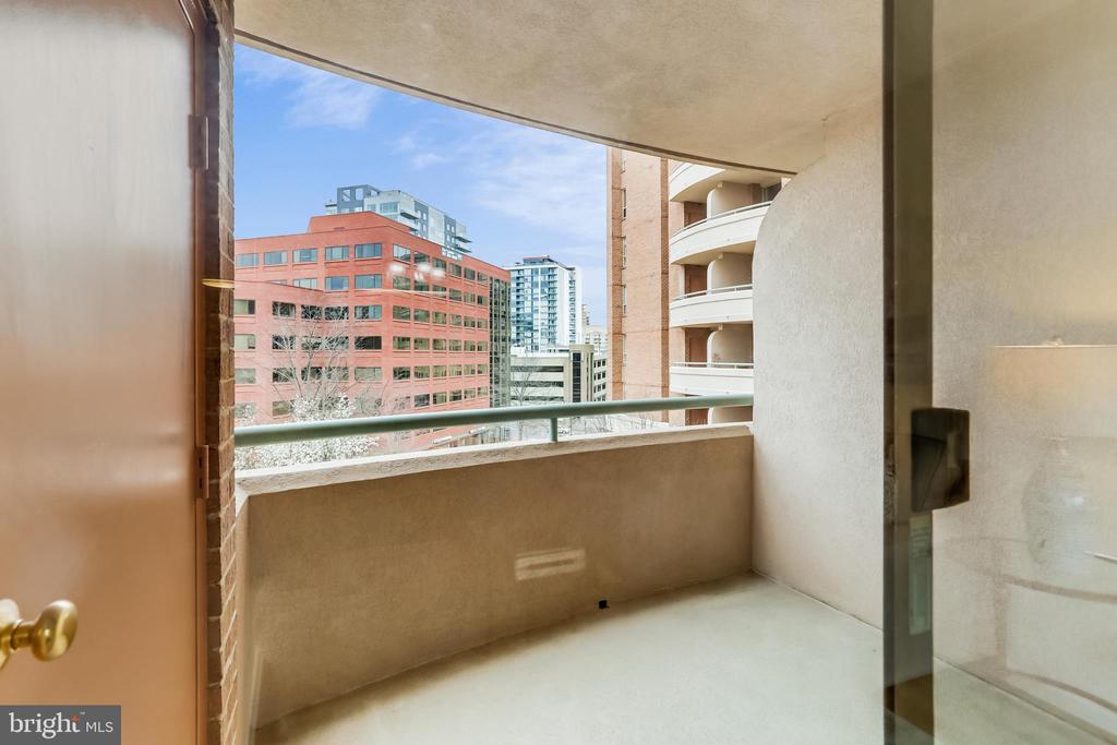 Balcony - 4808 MOORLAND LN #503, BETHESDA