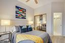 Second Bedroom with En Suite - 2111 WISCONSIN AVE NW #PH7, WASHINGTON