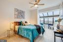 Master Bedroom, Fits a King Sized Bed - 2111 WISCONSIN AVE NW #PH7, WASHINGTON