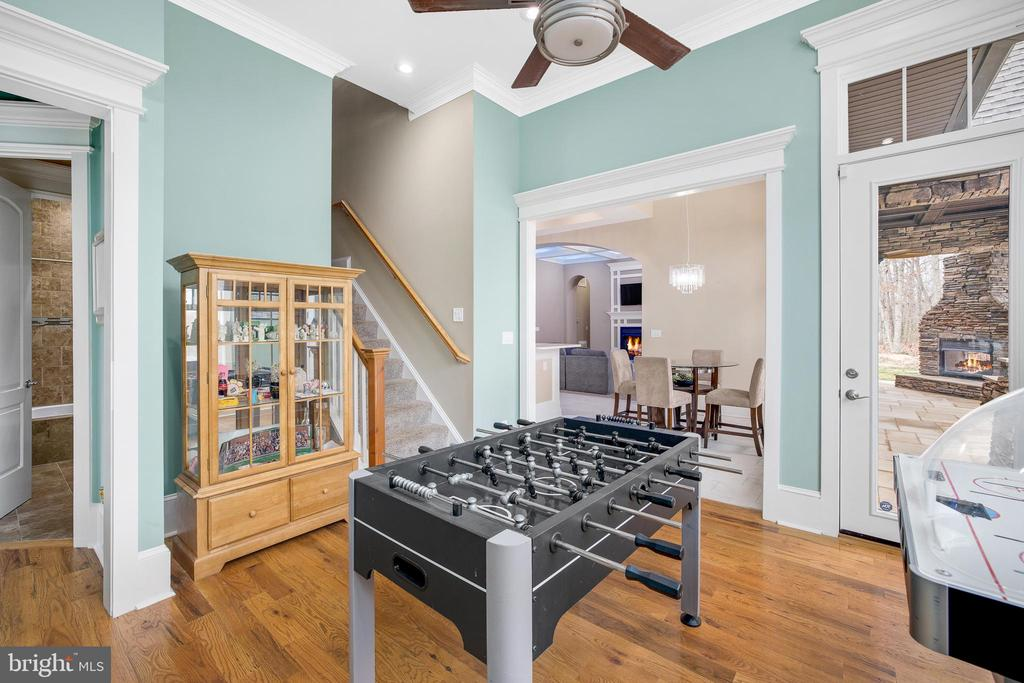 Game Room - 10403 TREATY CT, SPOTSYLVANIA