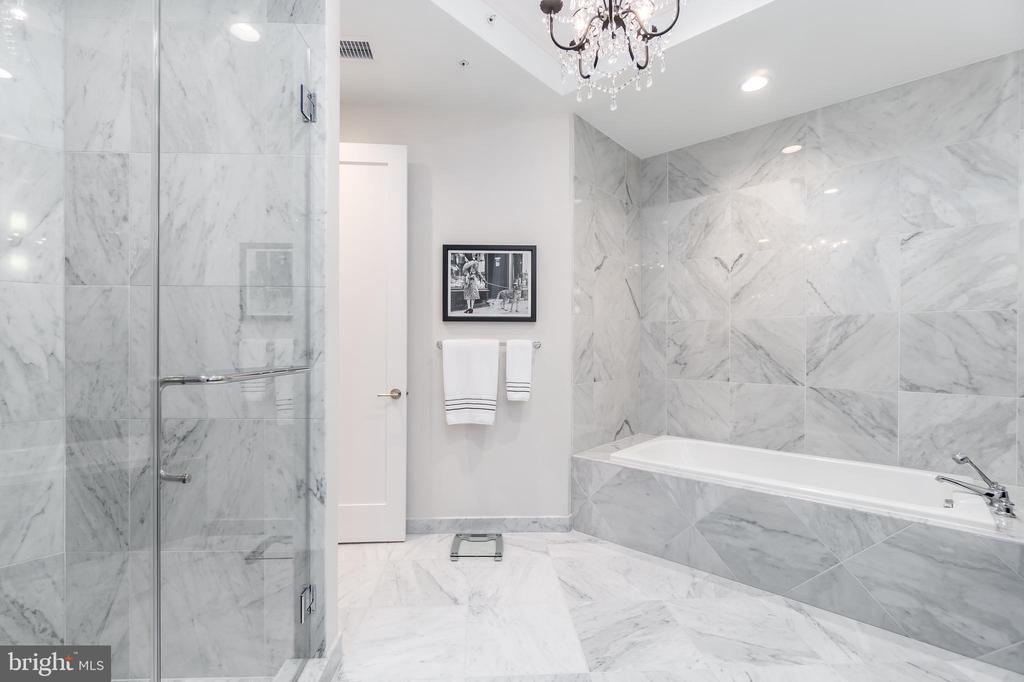 Master Bathroom - 8111 RIVER RD #125, BETHESDA