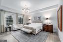 Master Bedroom - 8111 RIVER RD #125, BETHESDA