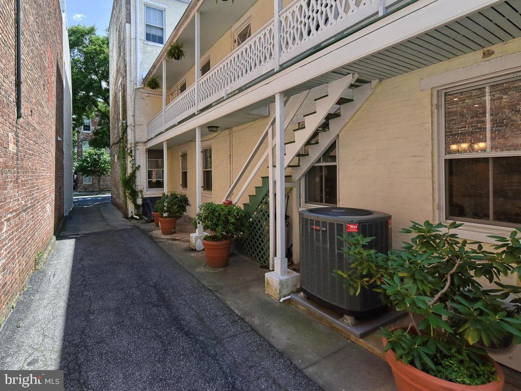 Alley leads to 6 parking spaces! - 121 W 2ND ST, FREDERICK
