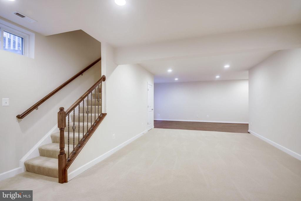 Huge Open Space in Lower Level - 20689 HOLYOKE DR, ASHBURN