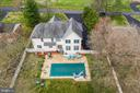 Bird's eye view of the back yard - 20226 BROAD RUN DR, STERLING