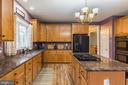 Maple cabinets, granite counters for miles! - 20226 BROAD RUN DR, STERLING