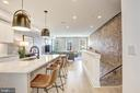 Sunny Open Main Level with Exposed Brick - 1710 10TH ST NW #2, WASHINGTON
