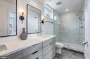 Master Bathroom with Floating Vanities - 1710 10TH ST NW #2, WASHINGTON