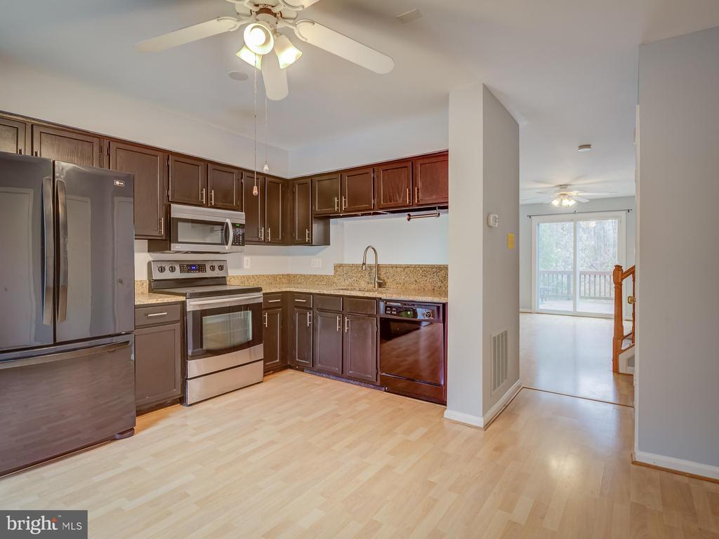 Granite Counter Tops And Newer Appliances - 20422 SUMMERSONG LN, GERMANTOWN