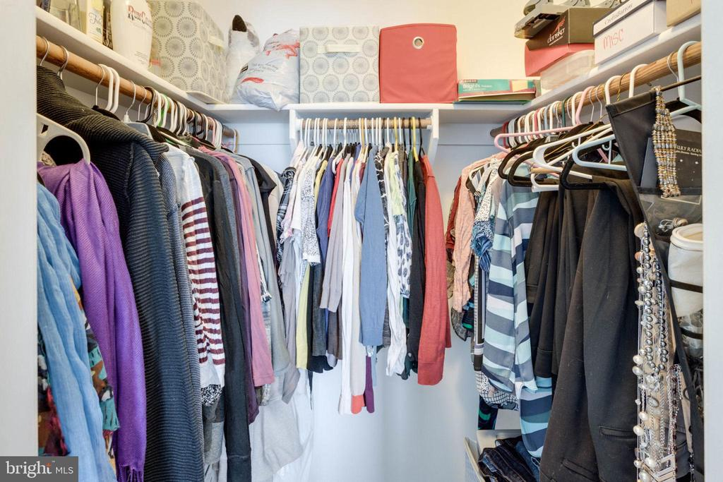 Walk-in Master Bedroom closet - 13813 TURTLE CT, GAINESVILLE
