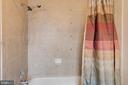 2nd hall bath - 13813 TURTLE CT, GAINESVILLE