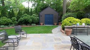 Private flagstone patio for outdoor entertaining - 1310 DALE DR, SILVER SPRING
