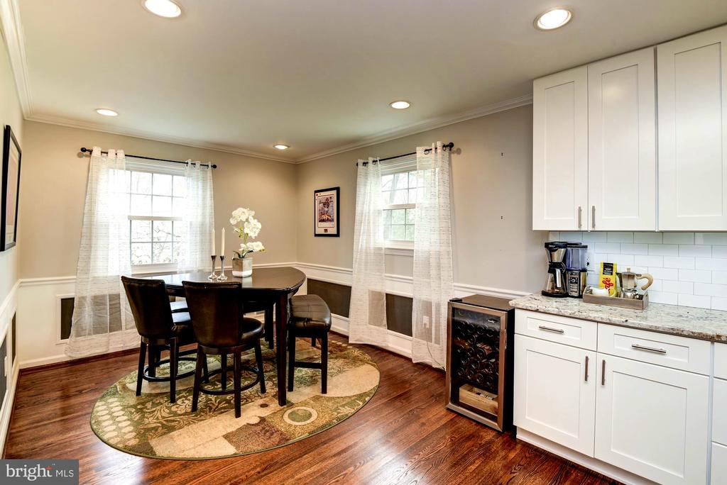 Enjoy the Sun-filled Area Off the Kitchen - 8902 TRANSUE DR, BETHESDA
