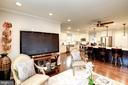 Family Relaxation Area Adjoins Kitchen - 8902 TRANSUE DR, BETHESDA