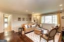 Sun-filled Family Room Leads to Bedrooms - 8902 TRANSUE DR, BETHESDA