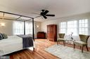 Spacious and Sun-filled Master Bedroom - 8902 TRANSUE DR, BETHESDA