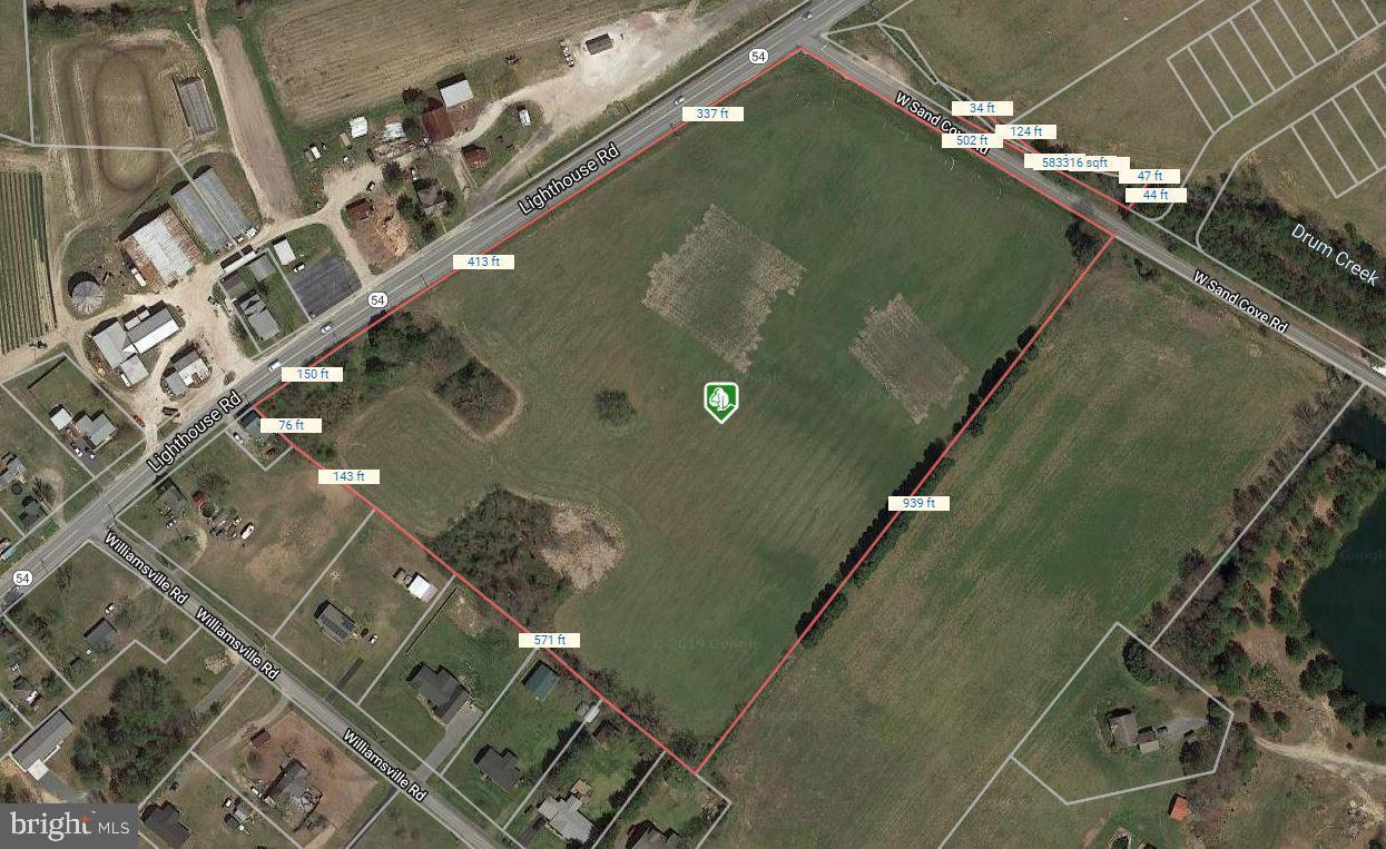 Land for Sale at Selbyville, Delaware 19975 United States