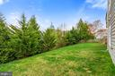 Tree lined fenced rear yard offers privacy. - 43988 RIVERPOINT DR, LEESBURG