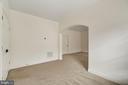 Sitting room, reading nook off master suite. - 43988 RIVERPOINT DR, LEESBURG