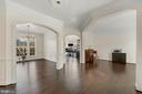 Archways & moldings accent elegant spaces. - 43988 RIVERPOINT DR, LEESBURG