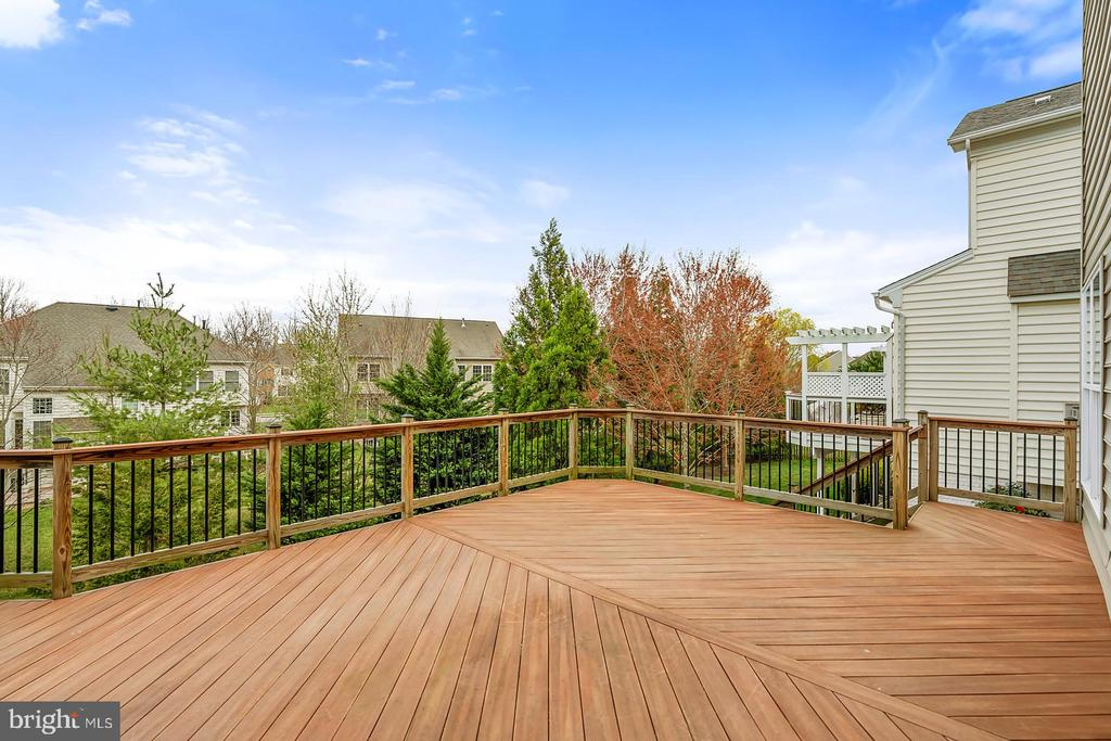 Entertain overlooking tree lined fenced yard! - 43988 RIVERPOINT DR, LEESBURG