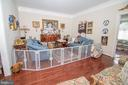 Elegant Living Room - 25282 KENNEBEC DR, CHANTILLY