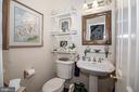 Main Level Powder Room - 25282 KENNEBEC DR, CHANTILLY