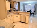 Open Kitchen w/Breakfast Bar - 403 WESTOVER PKWY, LOCUST GROVE