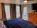 Large Master Bedroom on back of home - 403 WESTOVER PKWY, LOCUST GROVE
