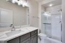 Brand New Master Bath Updates - 12001 MARKET ST #150, RESTON