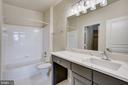 Bathroom #2  Brand New Updates - 12001 MARKET ST #150, RESTON