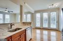 Kitchen & Dining Room - 12001 MARKET ST #150, RESTON