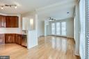 Open Kitchen, Living & Dining Room - 12001 MARKET ST #150, RESTON