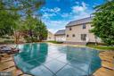 Pool area with a hardscape picnic area - 2505 UNDERWOOD LN, ADAMSTOWN