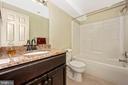 Lower level full bath - 2505 UNDERWOOD LN, ADAMSTOWN