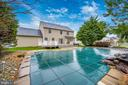 Plenty of privacy in the pool area - 2505 UNDERWOOD LN, ADAMSTOWN