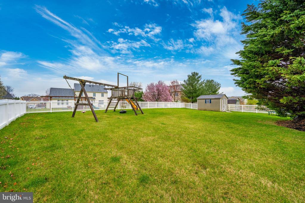 Play area in the back yard - 2505 UNDERWOOD LN, ADAMSTOWN