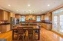 Open Concept Social Kitchen - 17109 GULLWING DR, DUMFRIES