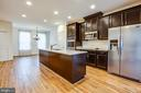 Stainless steel appliances & granite counters - 8900 ENGLEWOOD FARMS DR, MANASSAS