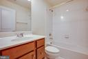 Lower level full bath (total of 3 full baths) - 8900 ENGLEWOOD FARMS DR, MANASSAS