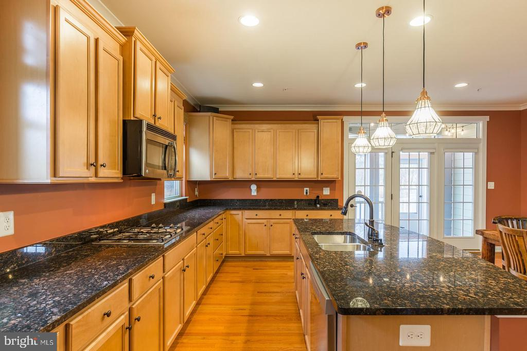 Gourmet Kitchen with access to rear porch - 17109 GULLWING DR, DUMFRIES