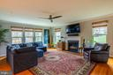 Massive family room awaits you room to spread out! - 17109 GULLWING DR, DUMFRIES