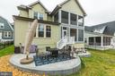 Really look. two screen porches, fence, patios - 17109 GULLWING DR, DUMFRIES