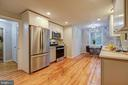 NEW STAINLESS STEEL KITCHEN WITH QUARTZ COUNTERS - 10311 DETRICK AVE, KENSINGTON